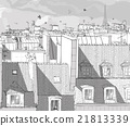 France - Paris roofs 21813339