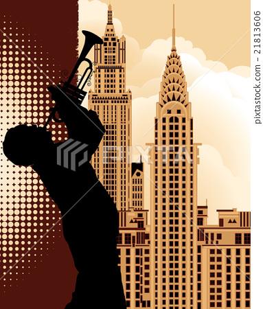 Trumpet player 21813606