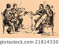 musician quartet 21814330