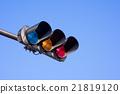 交通信號 紅綠燈 交通燈 21819120