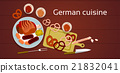 German Cuisine Traditional Sausages 21832041