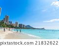 檀香山 威基基海灘 度假 21832622