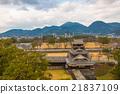 Vintage castle of japan 21837109
