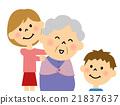 祖母 奶奶 肩頸按摩 21837637