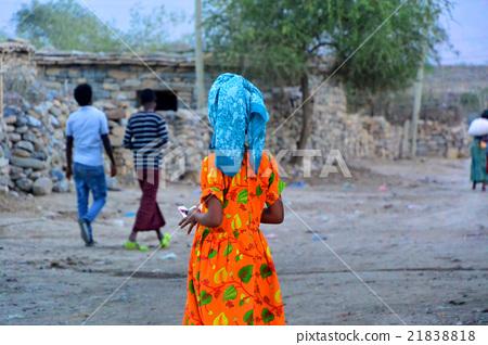 아프리카 에티오피아 여성의 다채로운 민족 의상 21838818