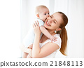 baby, mother, family 21848113
