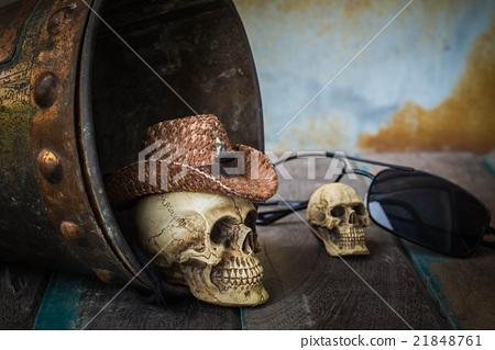 Skull cap on the water tank 21848761
