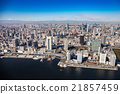 tokyo, aerial photography, aerial shot 21857459