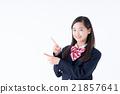 初中生 中學生 女孩 21857641