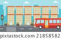 Background of modern city. 21858582