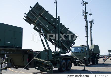 """Patriot system"" launch device & antenna mast 21866652"
