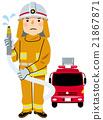劳动人民各种职业(消防员) 21867871