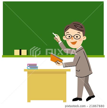 Stock Illustration: teacher, teachers, vector