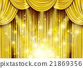 aureate, gilded, curtain 21869356