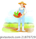 農業 豐收 收穫 21870729