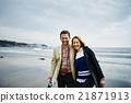 肖像 沙灘 旅遊 21871913