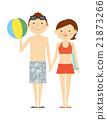泳衣 男女 男人和女人 21873266