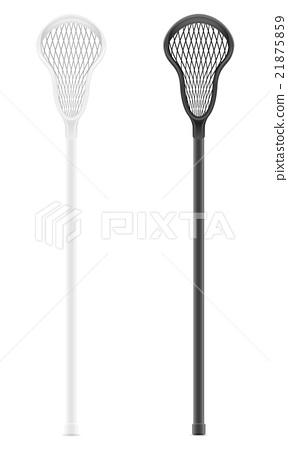 lacrosse sticks vector illustration 21875859