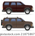 suv car vector illustration 21875867