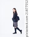 初中生 中学生 步行 21877552