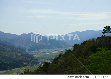 "Japan's ""castle in the sky"" Takeda Castle Ruins Takeda Castle Ruins Hyogo Prefecture Asago-shi 21879172"