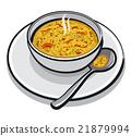 soup, vegetable, bowl 21879994