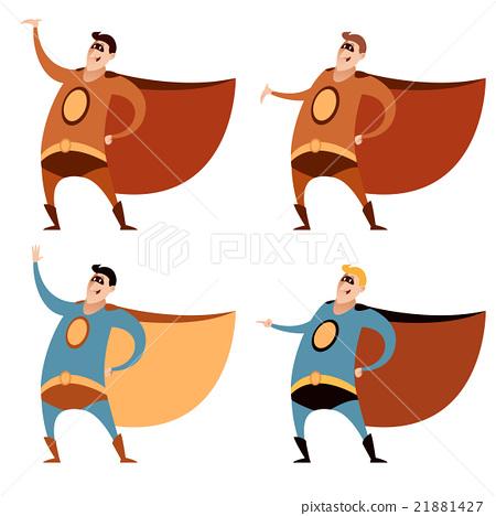 Set of superheroes 21881427