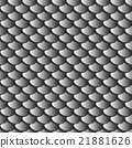 gray fish  or snake scales skin  seamless texture 21881626