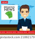 Man Tv Newscaster 21882179
