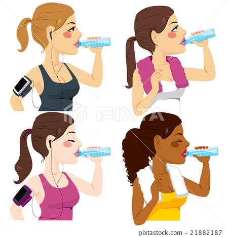 Drinking Sport Women 21882187