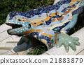 Guell Park·Lizard(西班牙·巴塞羅那) 21883879