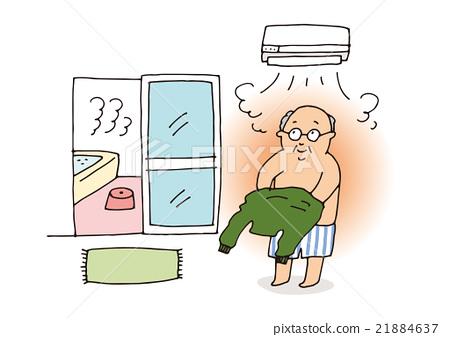 老人 暖氣 加熱 21884637