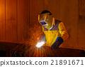 welder, laborer, mask 21891671