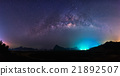 Panorama Milky way, night sky 21892507