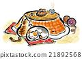 動物 小貓 冬 21892568