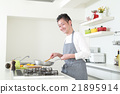 廚房 烹飪 食物 21895914