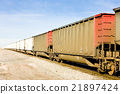 freight train, Colorado, USA 21897424