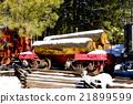 freight wagon, Flagstaff, Arizona, USA 21899599