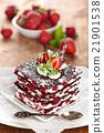 Chocolate dessert. 21901538