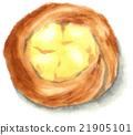 手繪 丹麥甜糕餅 脯 21905101
