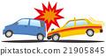 碰撞 汽車 交通工具 21905845