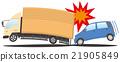 碰撞 汽車 交通工具 21905849