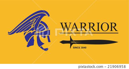Warrior Head. Warrior profile 21906958