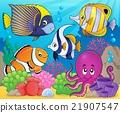 Coral fauna theme image 7 21907547