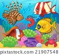 Coral fauna theme image 8 21907548