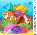 Coral reef fish theme image 7 21907554