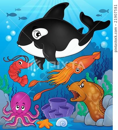 Ocean fauna topic image 8 21907581