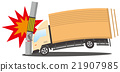 冲突 撞向 交通工具 21907985
