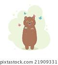 animal, bear, butterfly 21909331