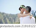 肖像 海灘 婚禮 21910122